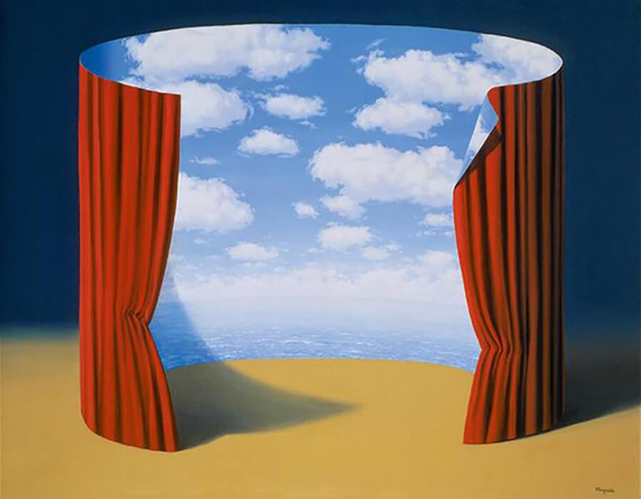 A marca surrealista de Magritte era algo irônico | VG Bild-Kunst Bonn 2017