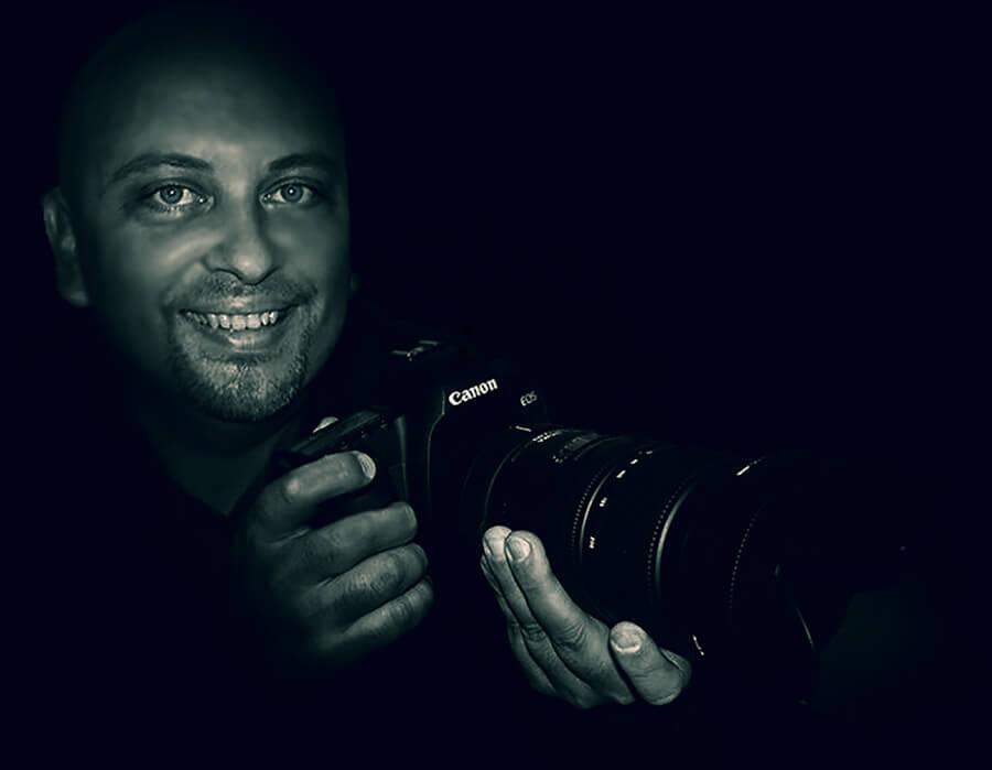 Auto retrato de Fernando Bianchi