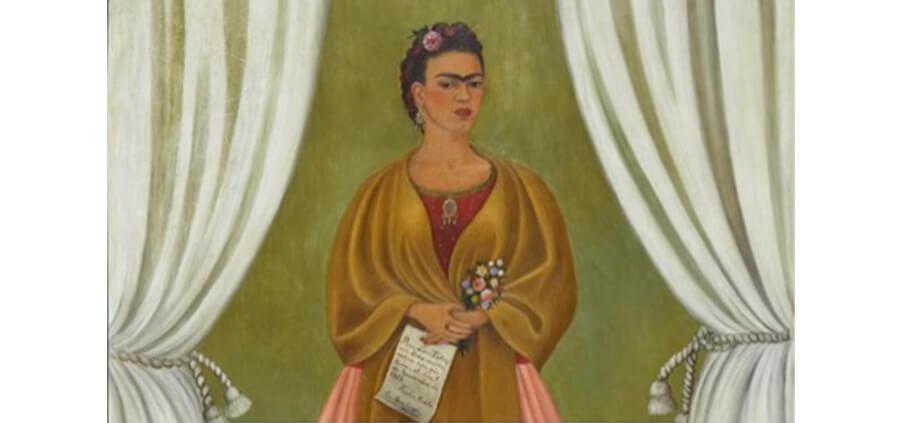 Frida Kahlo – Auto-retrato dedicado à Trotsky