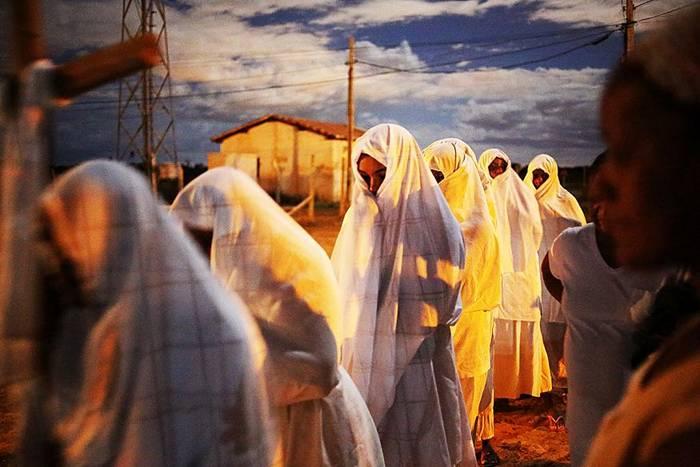 Fotografia da série Penitentes, de Guy Veloso