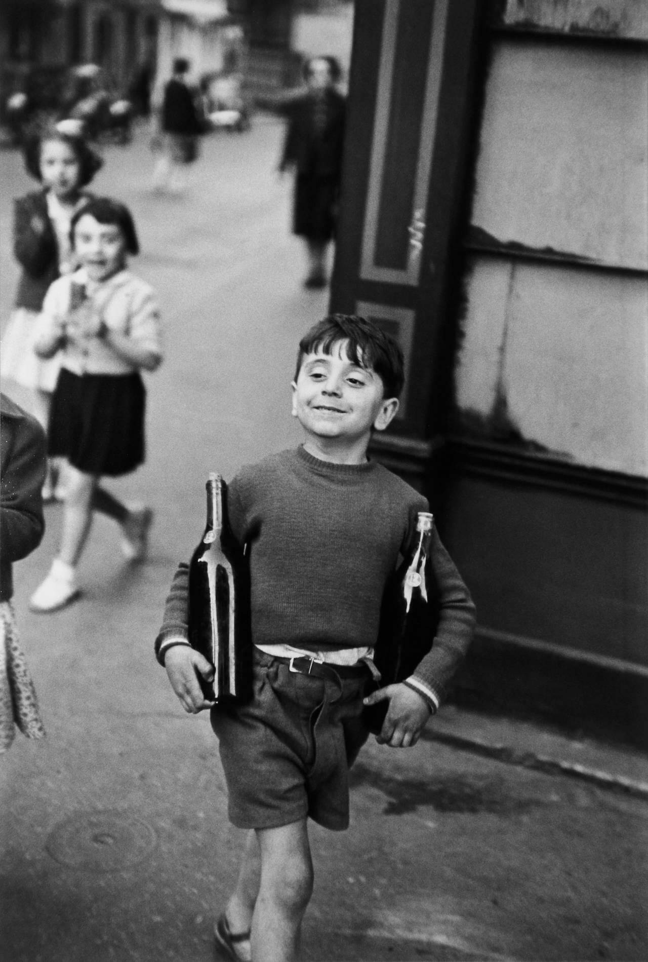 Rue Mouffetard, Paris, 1954