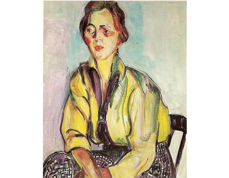 Uma Estudante, 1916 - Anita Malfatti