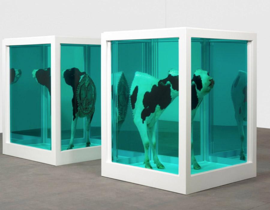 arte conceitual; Damien Hirst | Via Widewalls