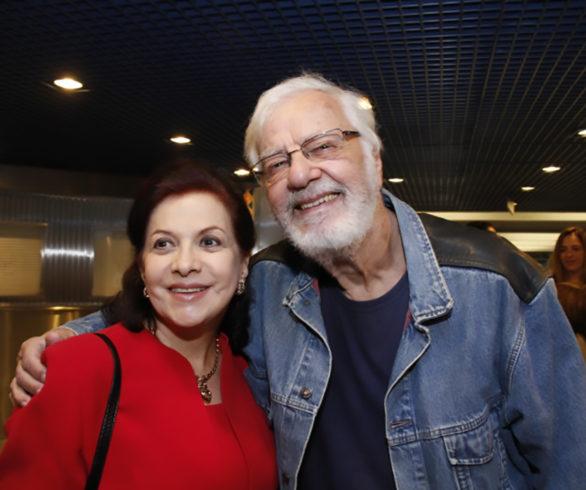 Lisbeth Rebollo e Nicolas Vlavianos