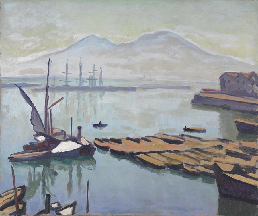 fauvismo; Albert Marquet - Baía de Nápoles (1908)