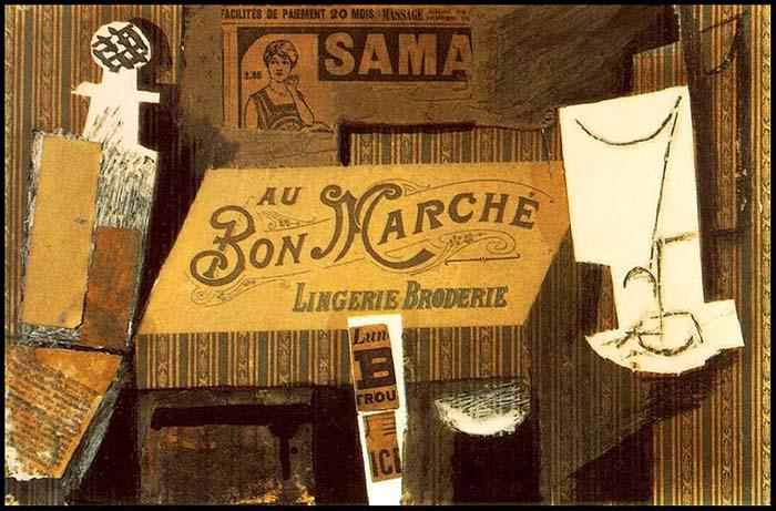 Picasso; Au Bon Marché (1913)