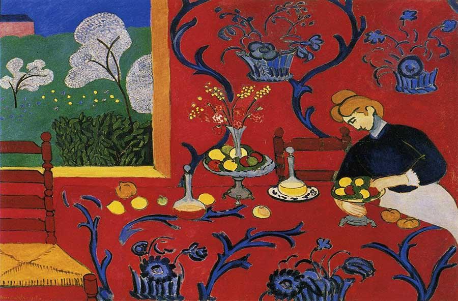 fauvismo; Henri Matisse; Harmonia em Vermelho (1908)
