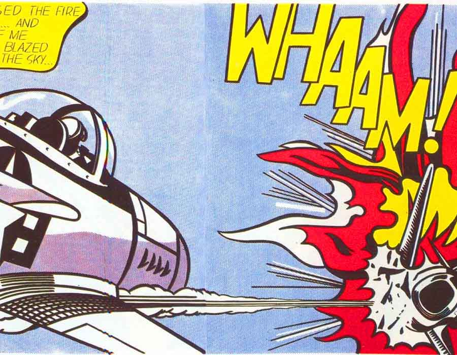 Whaam! (1963), de Roy Lichtenstein