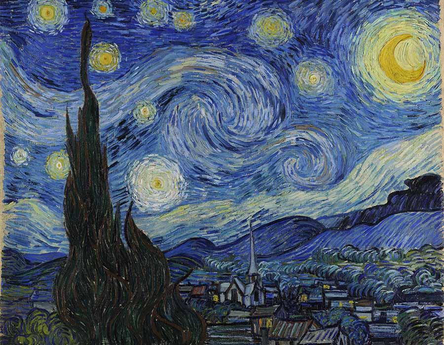 Van Gogh - Noite estrelada