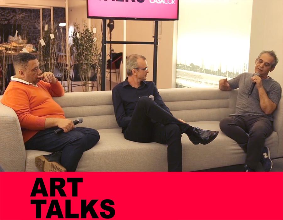 Veja o vídeo do Art Talks com Mario Mendes e Ozi
