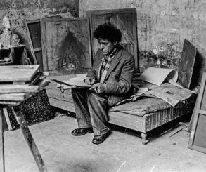 12 fotos incríveis do estúdio de Giacometti em Paris