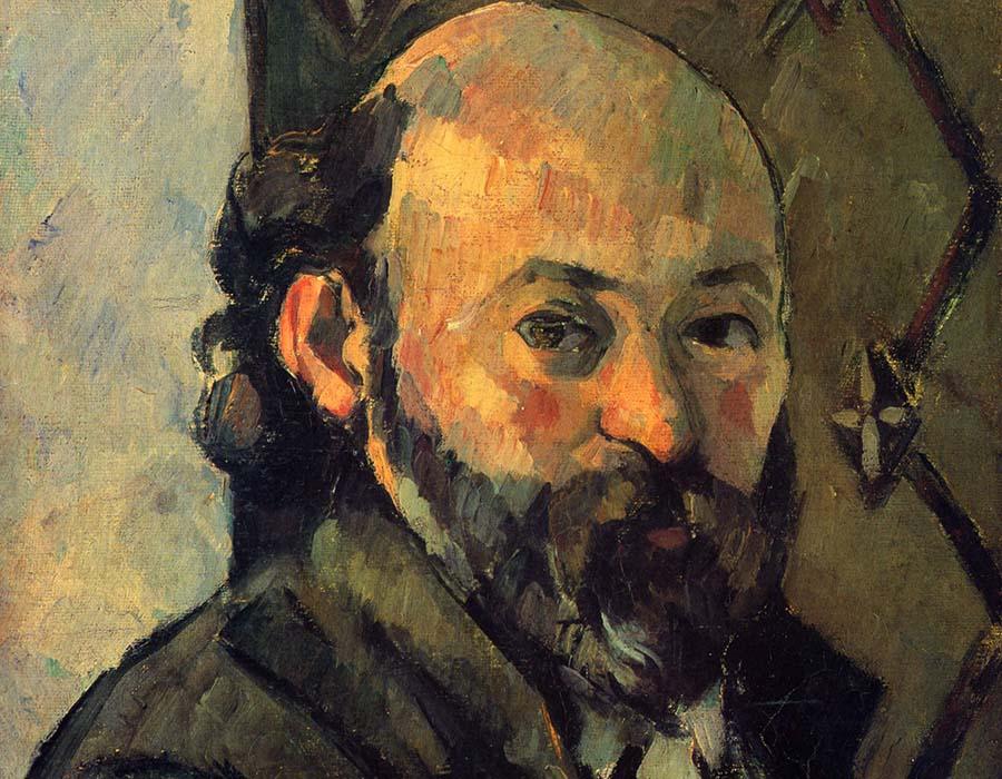Paul Cézanne. Autorretrato, 1879 | Via paulcezanne.org