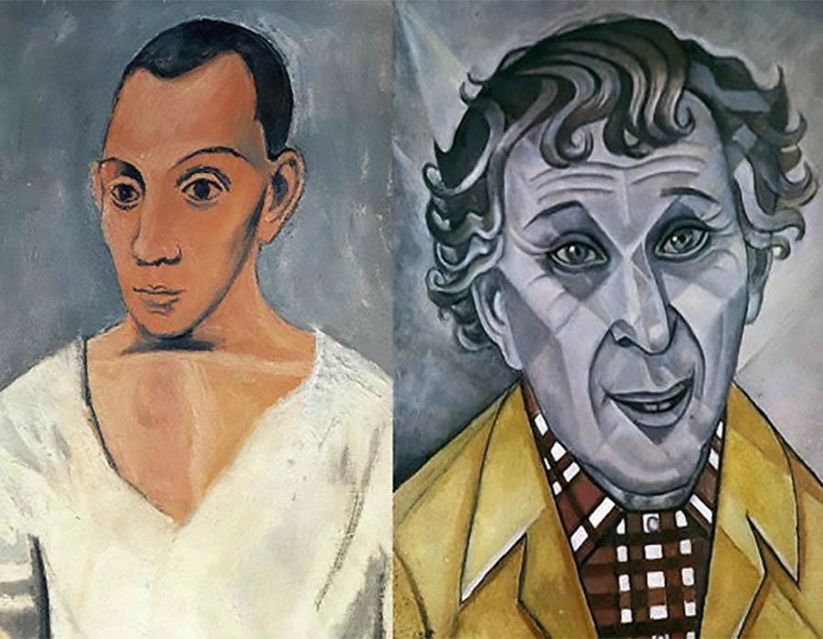 Picasso brigou com Marc Chagall