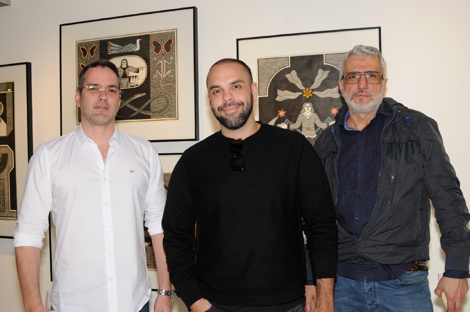 Daniel Maranhão, Paulo Azeco e Fernando Ferreira de Araujo (2)