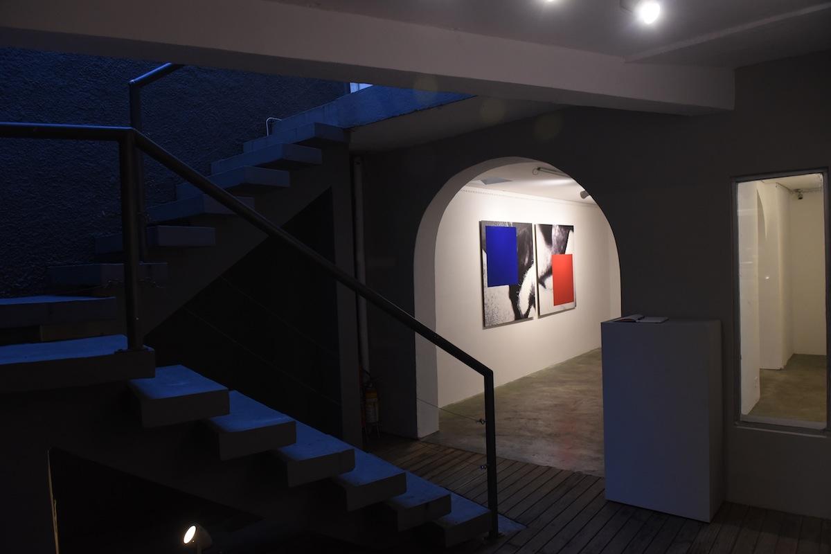 Espaço expositivo da Verve Galeria