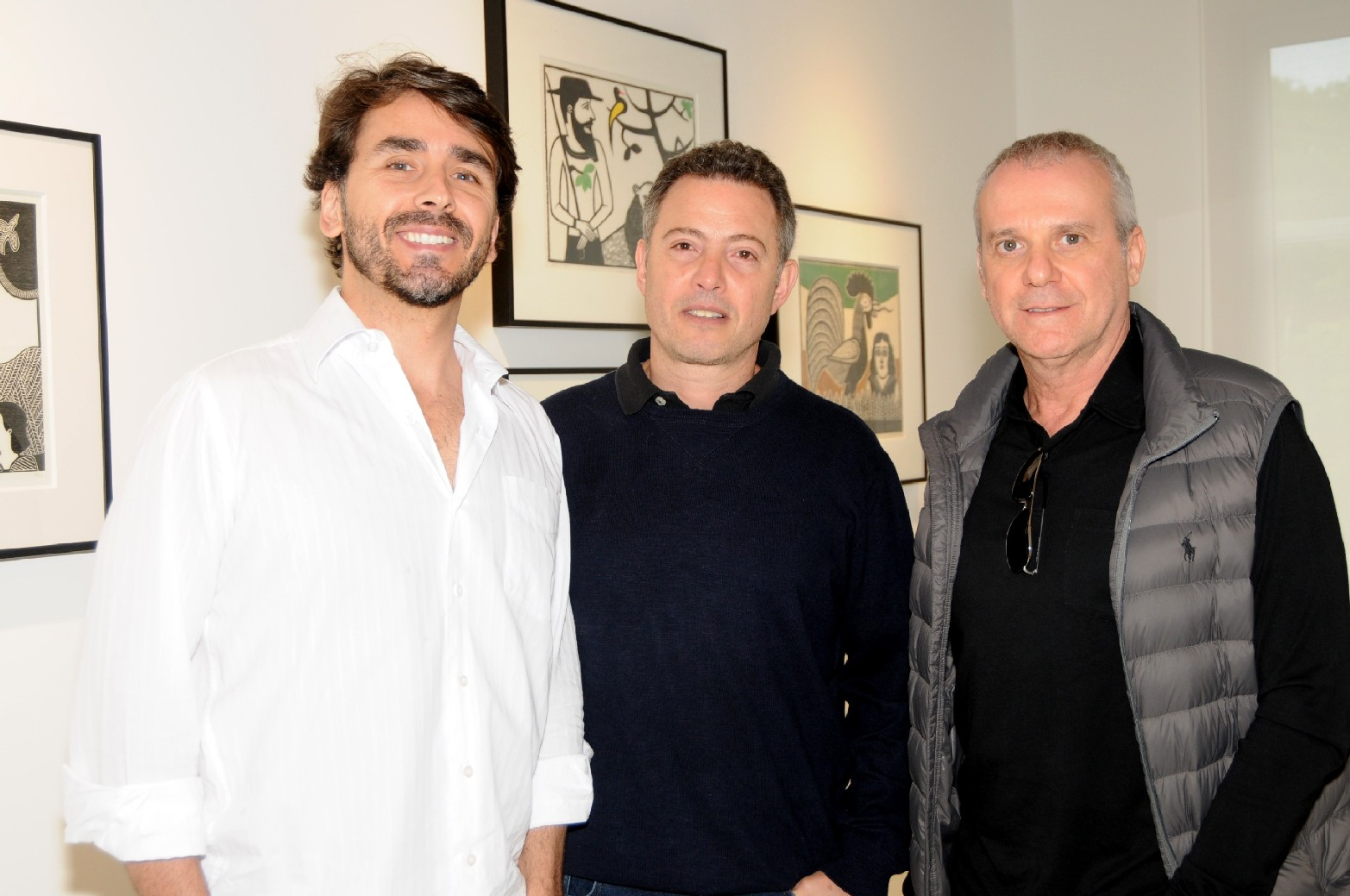 Sergio Aguiar, Gabriel Abbud e Roberto de Pace (1)