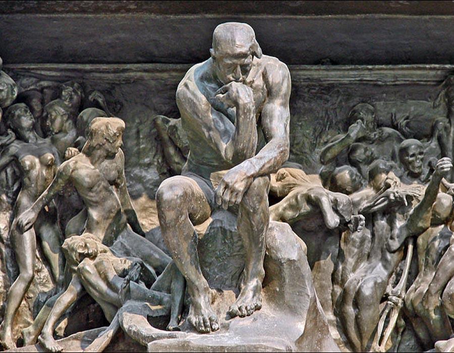 """9 Curiosidades sobre """"O Pensador"""" de Rodin que você não sabia"""