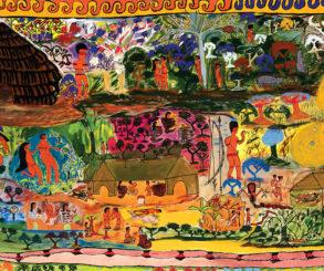 Veja Livro dos Huni Kuin no Itau Cultural
