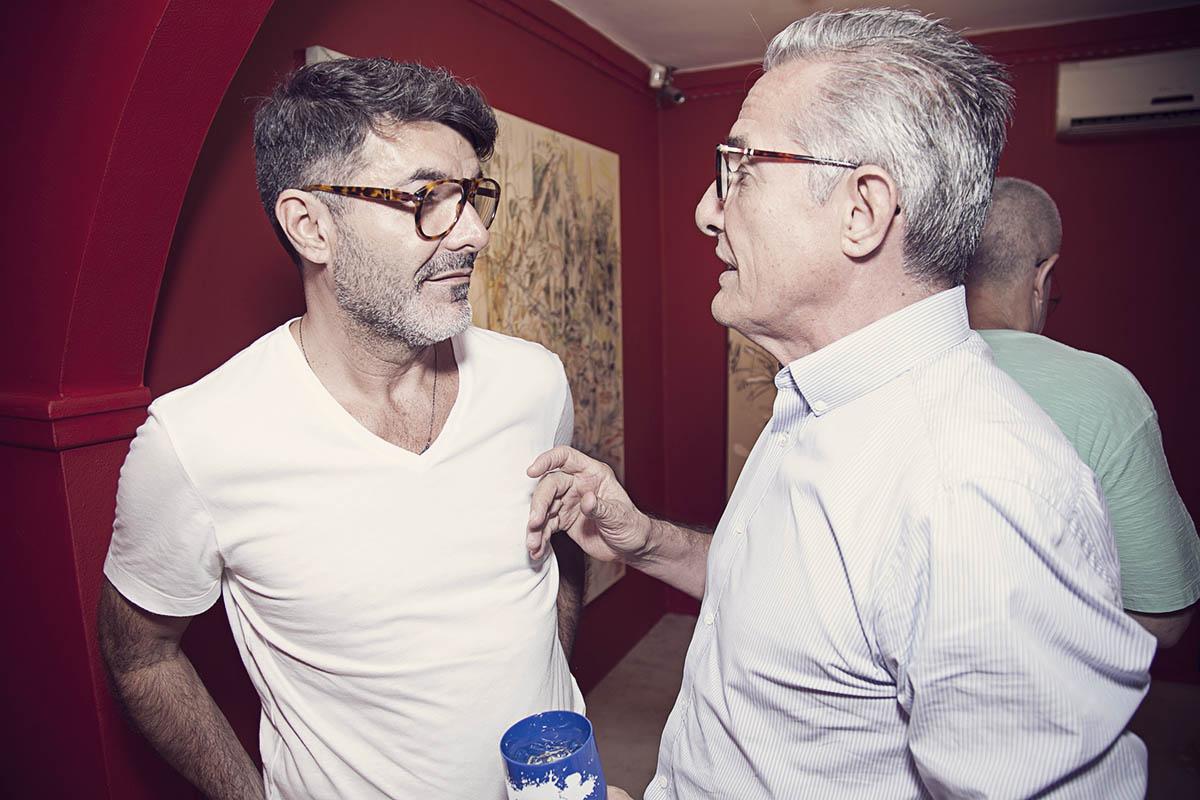 Bene de Oliveira e Chico Machione