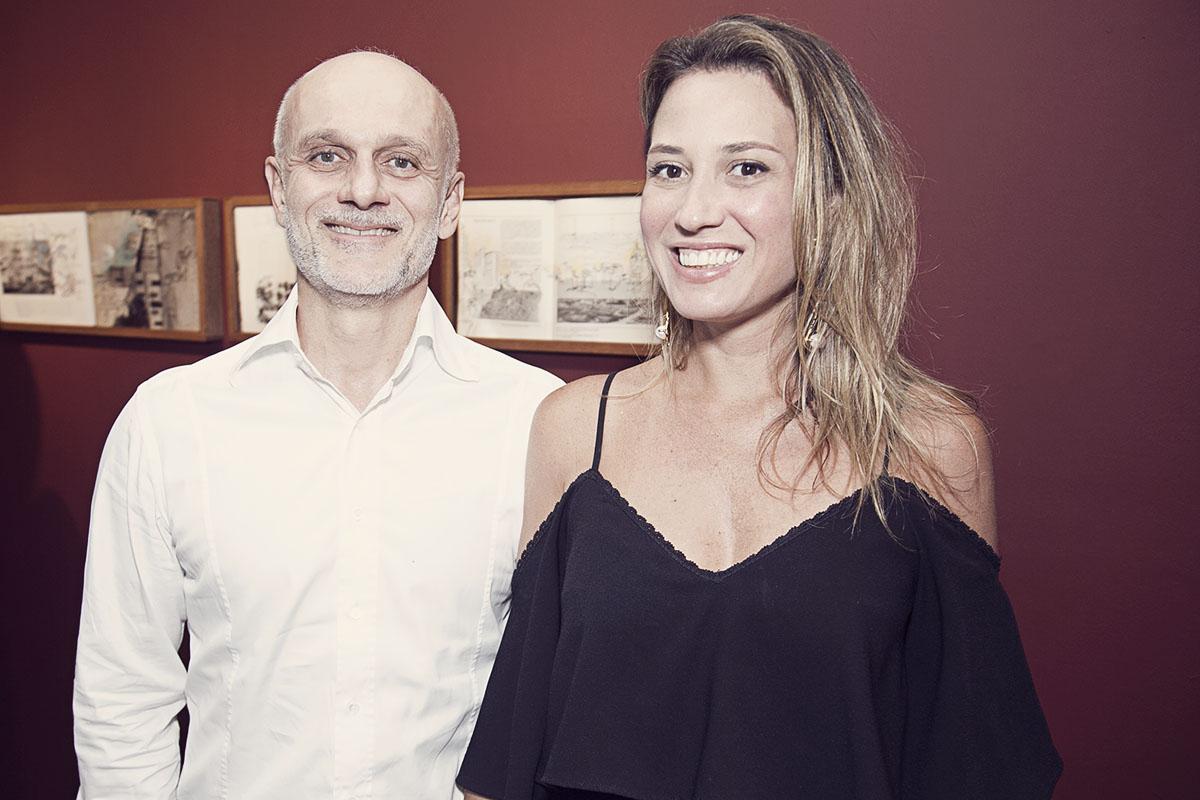 Corrado Varolli e Bianca Boeckel