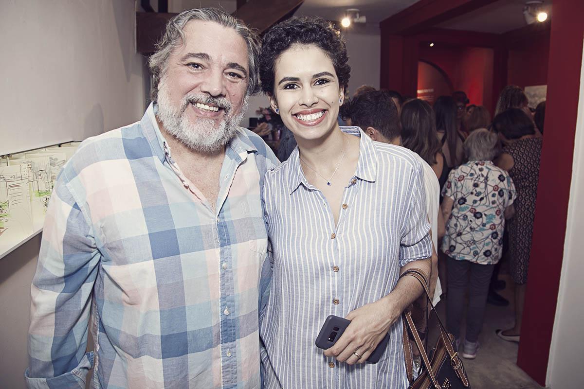 Marcos Varanda e Fernanda Burgos