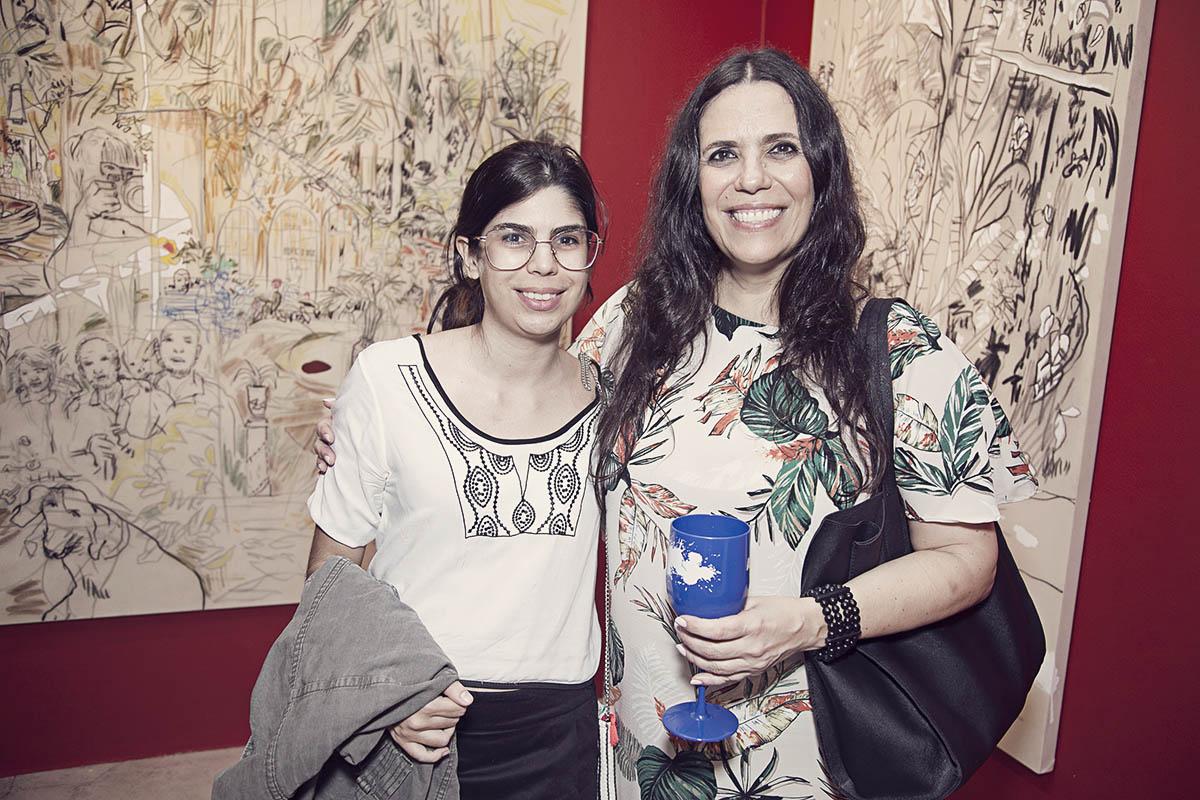 Mariana Lucas e Astrid Duarte