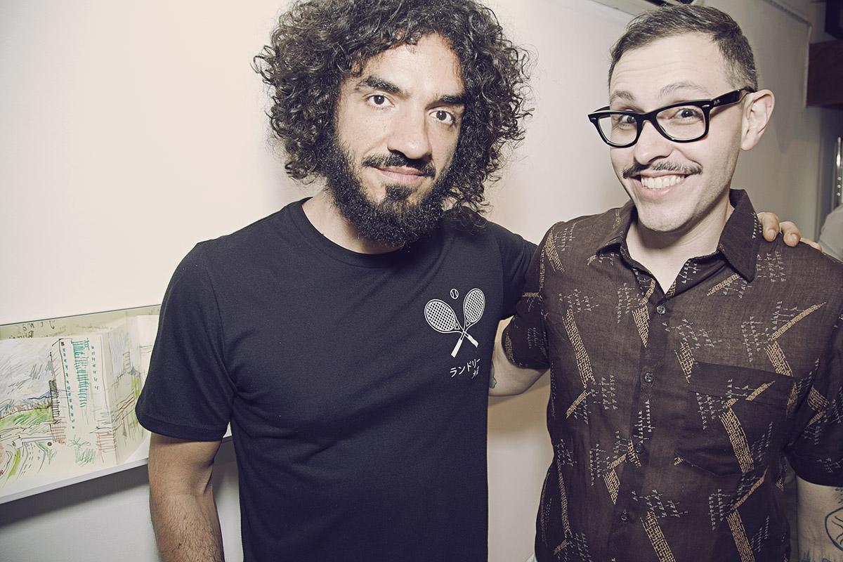 Stephan Doitschinoff e Rafael Silveira