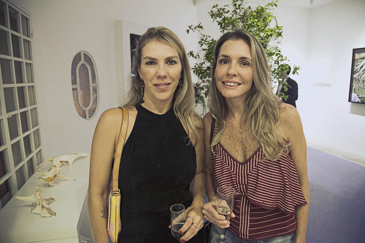 Aline Marques e Carla Ball