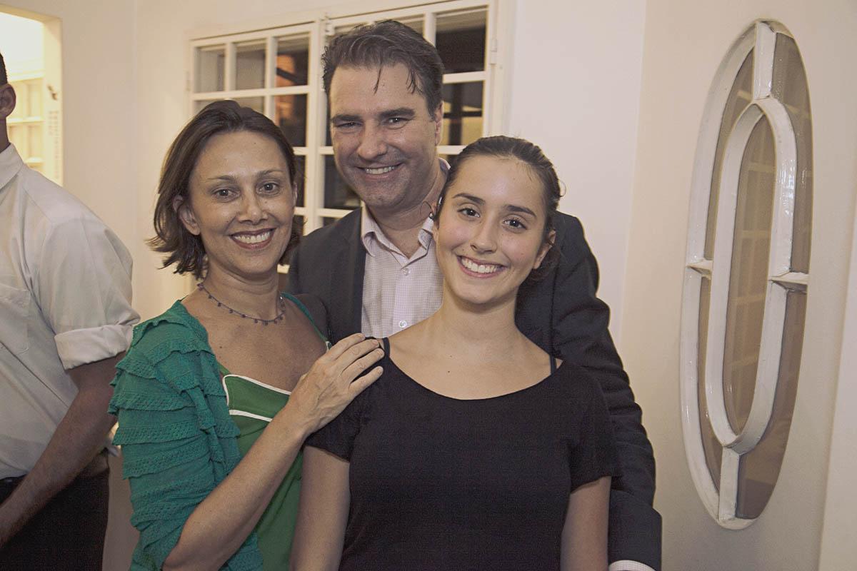 Dorinha Santos, Levindo e Joana Santos