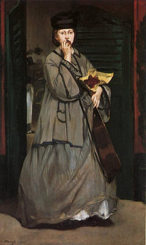 (Olympia de Manet) Edouard-manet-straat-zangeres-art-salon-holland