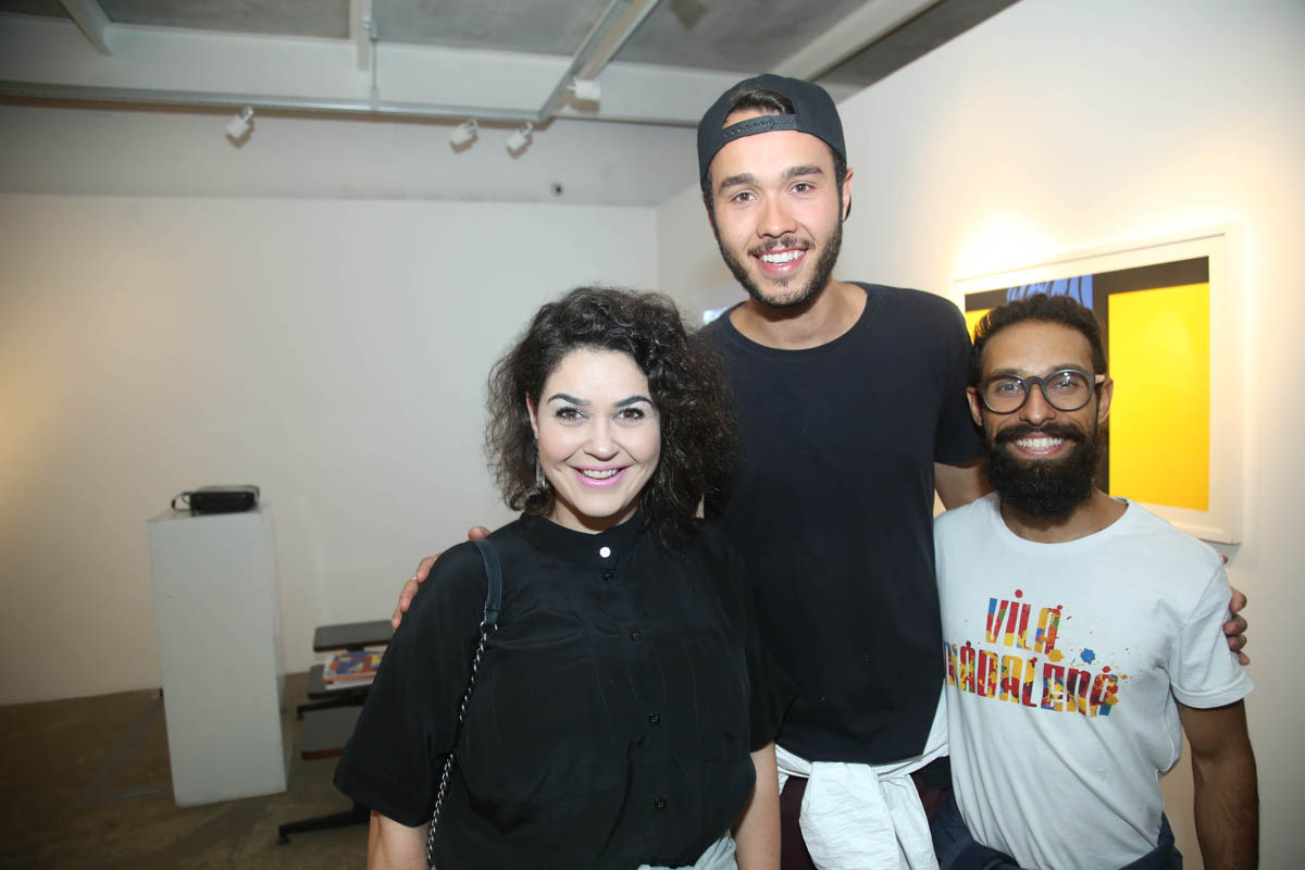 Ana Julia Kiss, Felipe Santos e Renan Mingroni