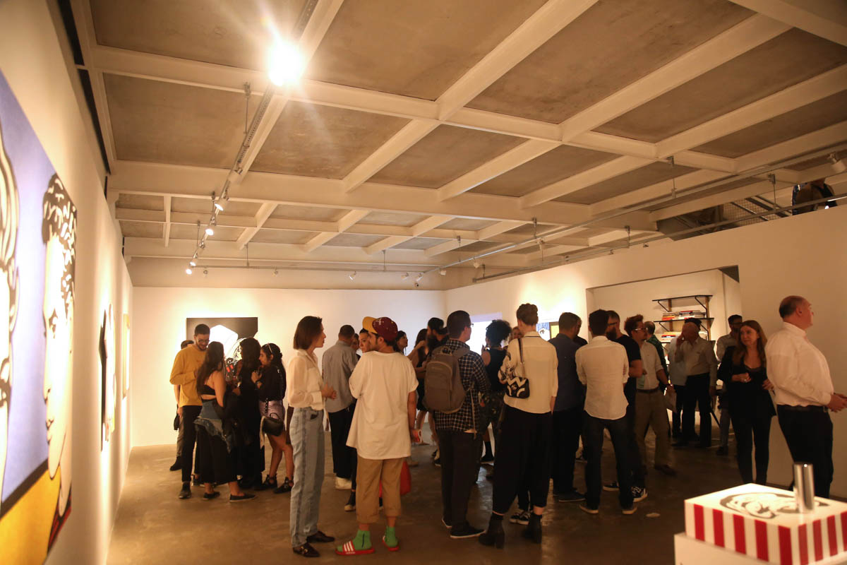 Espaço da Galeria Houssein Jarouche.1