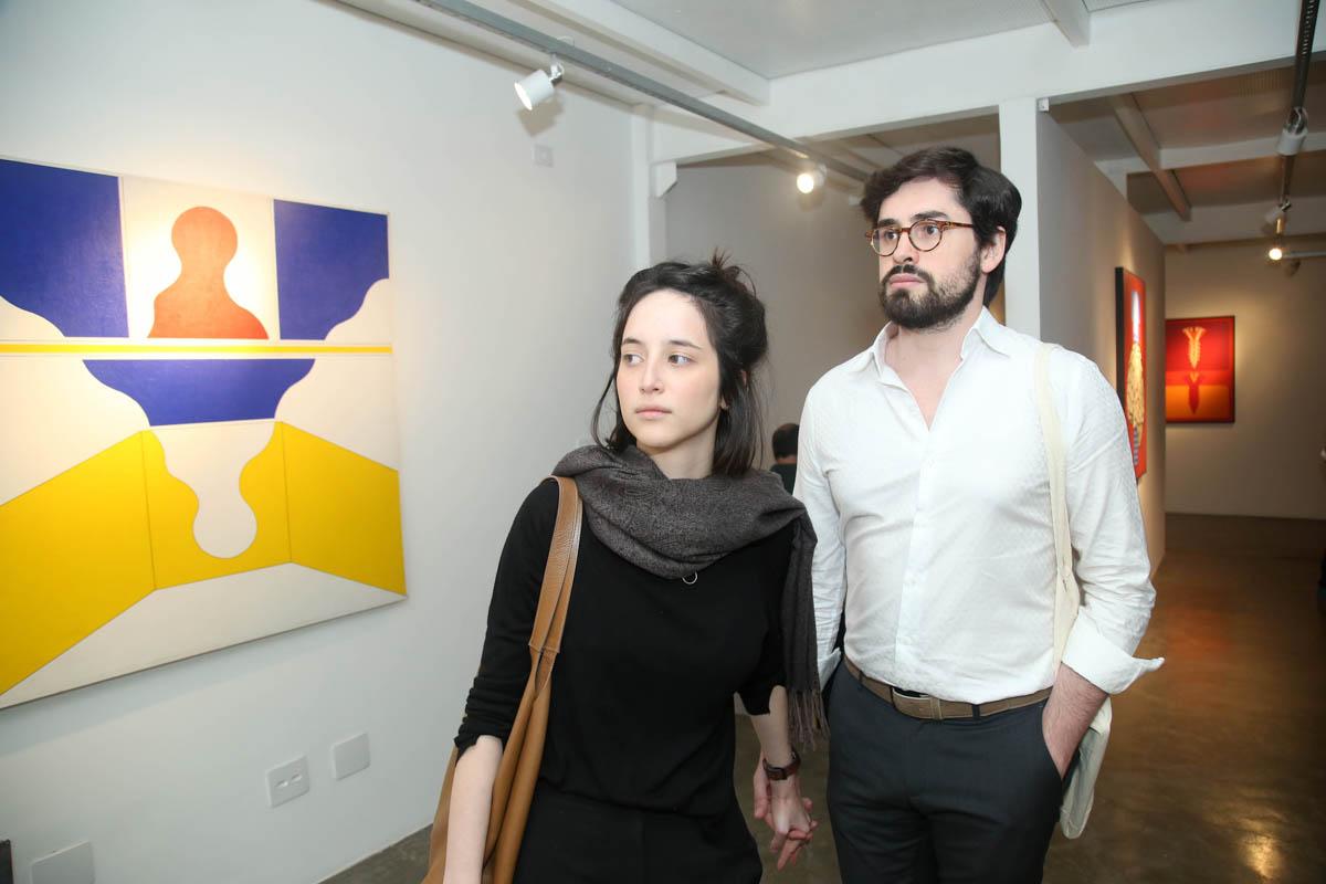 Gabriela Chow e Fred Peclat