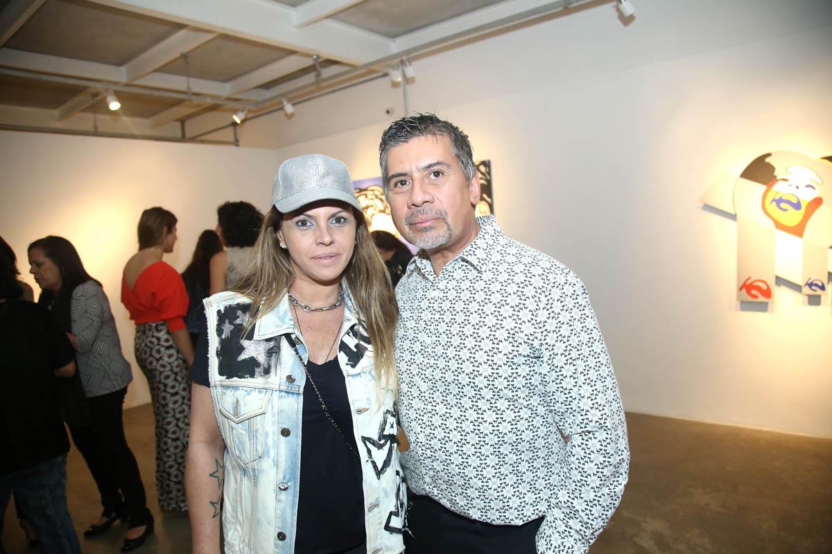 Katia Nogueira e Beto Galvez