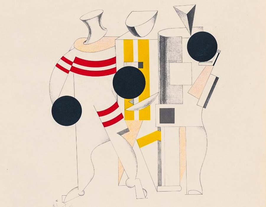 El Lissitzky | Sportsmen (1923)