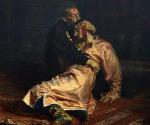A pintura de Ivan o terrível foi 'seriamente danificada' por um bêbado, veja aqui