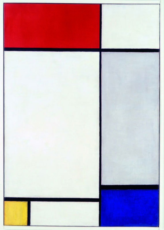 Mondrian | Composition with Red, Yellow and Blue, 1927