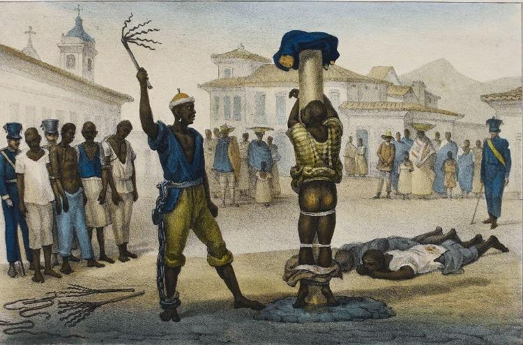 Jean-Baptiste Debret   L'Exécution de la Punition de Fouet