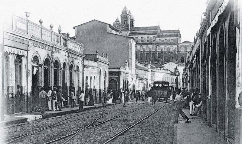 Baixada dos Sapateiros em 1902