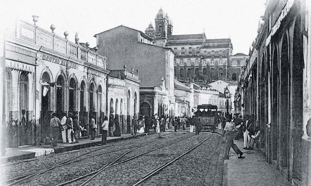 baixa dos sapateiros em 1902