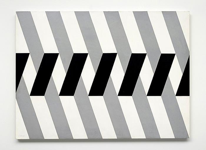 arte abstrata; waldemar cordeiro; Contradição Espacial (1958)