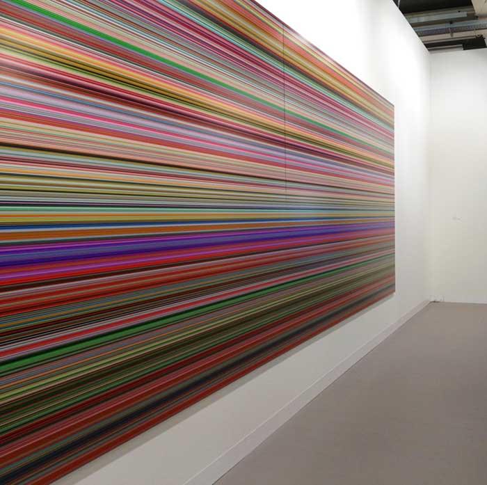 Gerhard Richter em metacrilato na Miami Basel