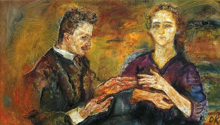 Hans Tietze and Erica Tietze-Conrat (1909)