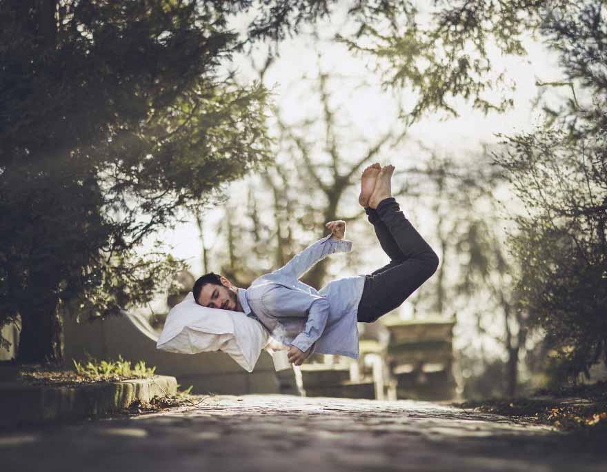 Falling Asleep - Vincent Bourilhon