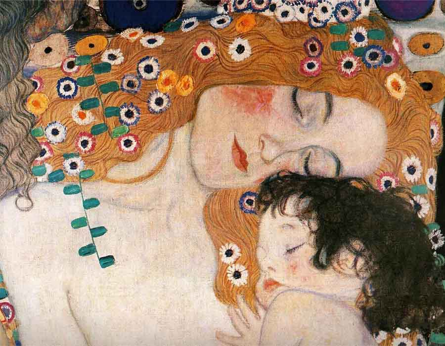 Gustav Klimt. Mother and Child, 1905.