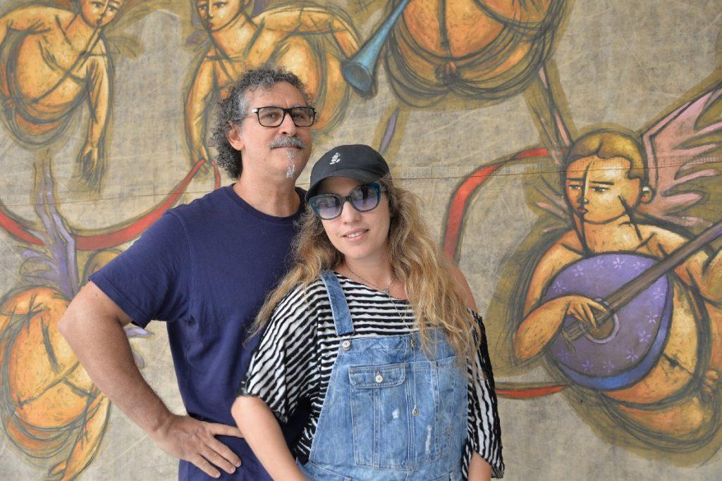 Claudio e Yael Steiner