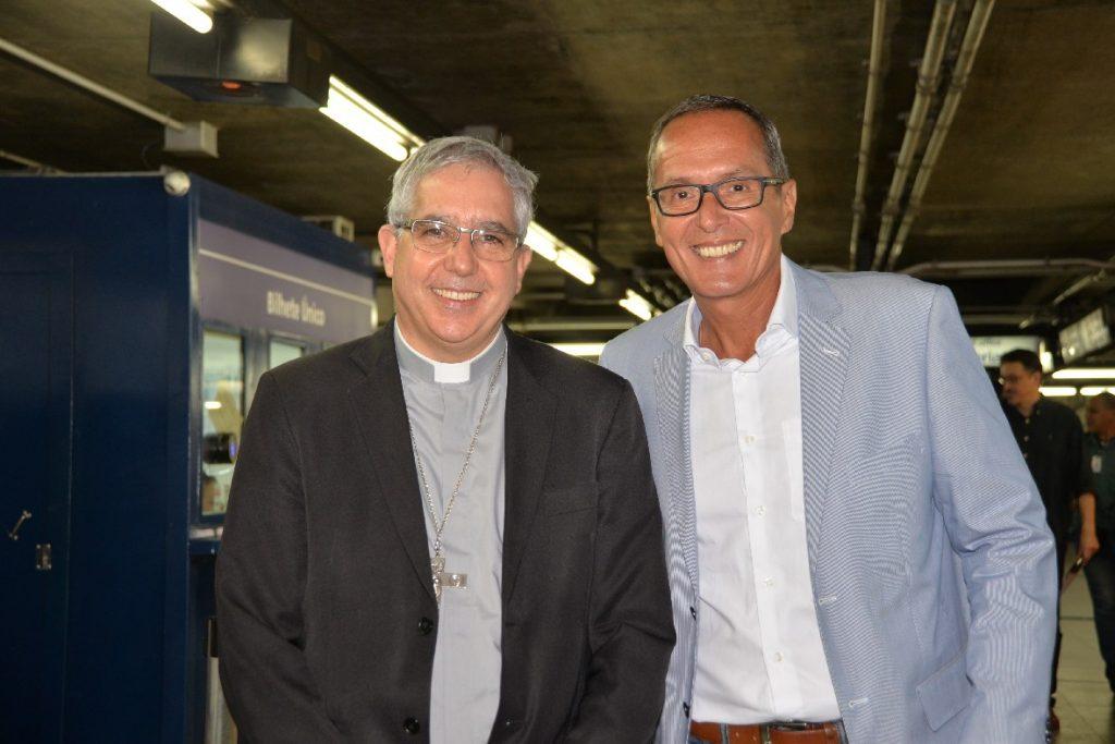 Dom Devair e Luiz Henrique Marcon