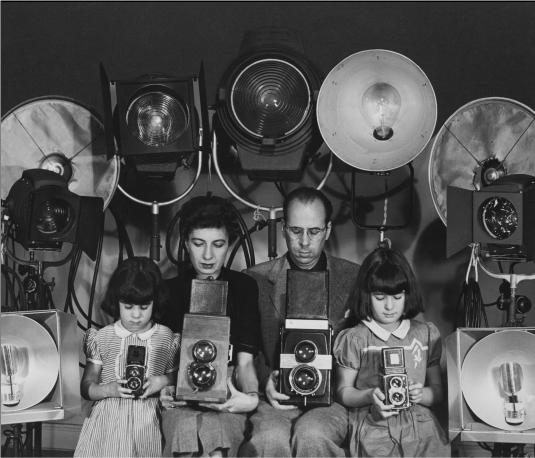 Philippe Halsman e família