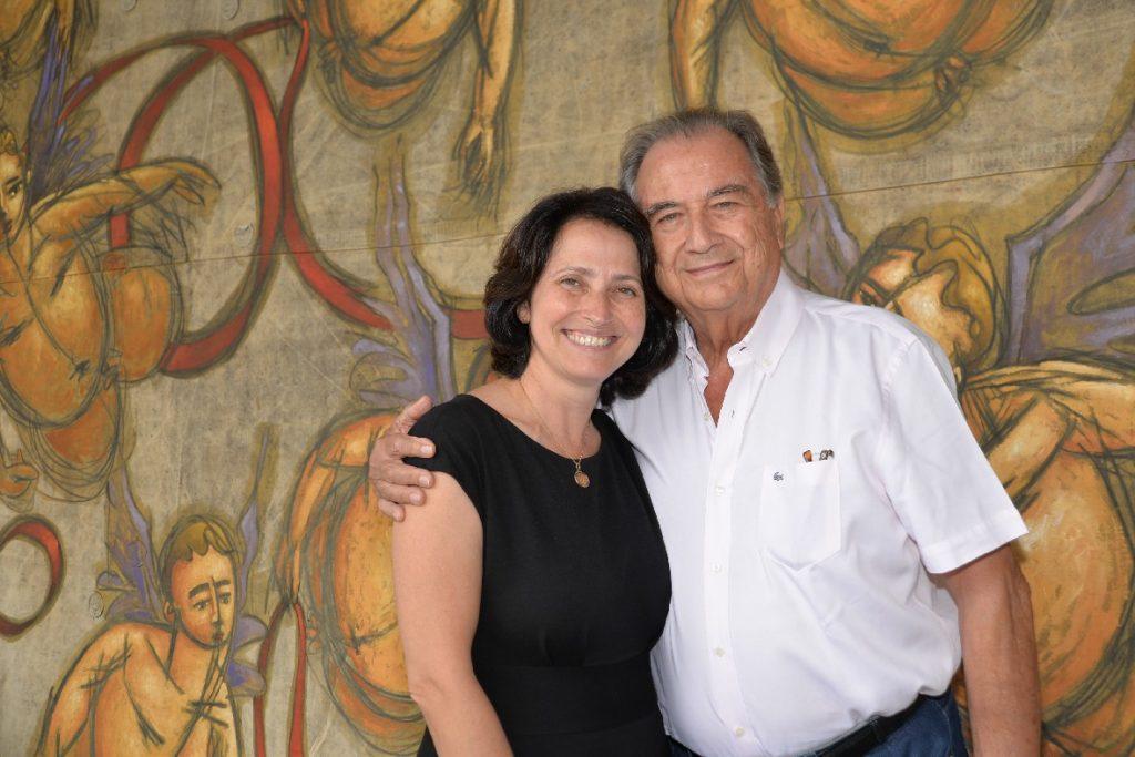 Silvana e José Oswaldo de Paula Souza