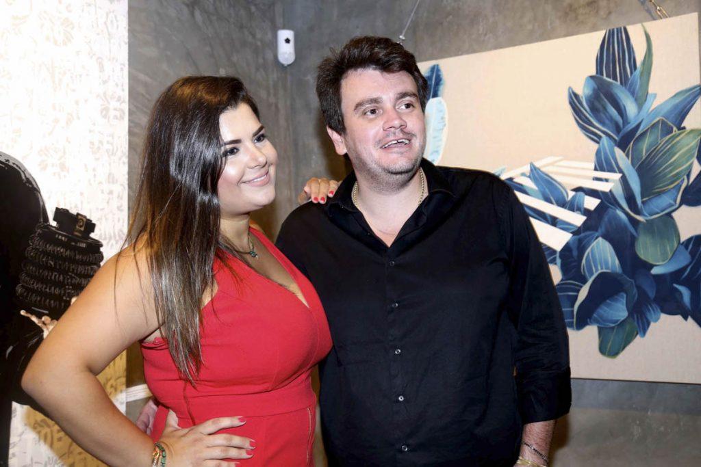 Tainara Ribeiro Afonso e Pedro Paulo Afonso